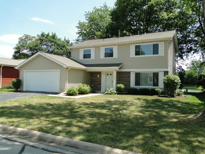 Naperville Single Family Home Contingent: 5s745 Malibu Lane