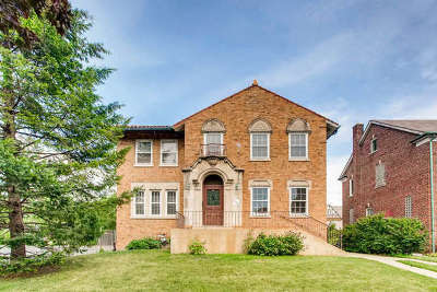 Oak Park Single Family Home For Sale: 1032 Columbian Avenue