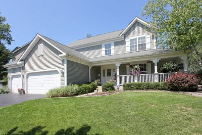 Fox Lake Single Family Home Contingent: 986 Talismon Way