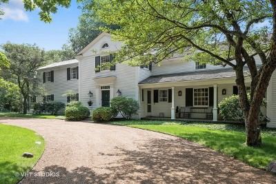 Winnetka Single Family Home For Sale: 81 Woodley Road