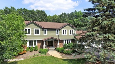 Barrington Single Family Home Contingent: 25625 North Oak Court