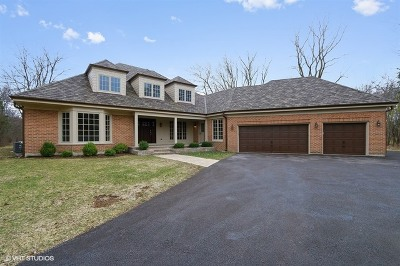 Lake Forest Single Family Home For Sale: 1045 West Old Mill Road