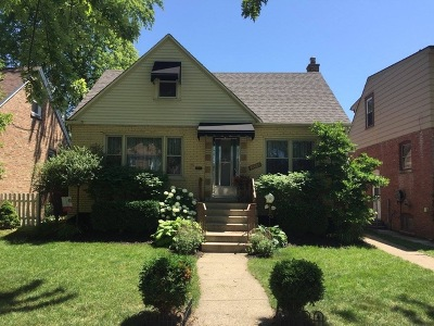 Evergreen Park Single Family Home For Sale: 10005 South Trumbull Avenue