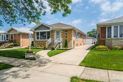 Norridge Single Family Home Contingent: 4537 North Orange Avenue