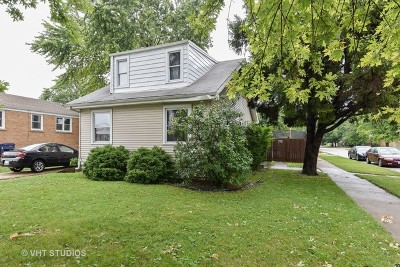 Evergreen Park Single Family Home For Sale: 8759 South Troy Avenue
