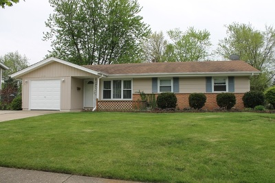 Schaumburg Single Family Home New: 1521 Arlington Lane