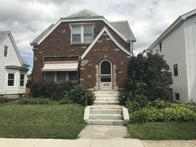 Chicago Multi Family Home Contingent: 4139 North Melvina Avenue