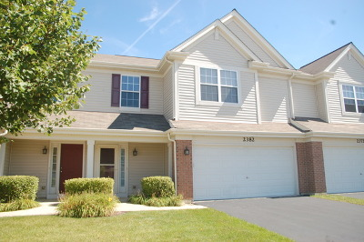 Lake In The Hills Condo/Townhouse New: 2382 Claremont Lane #2382
