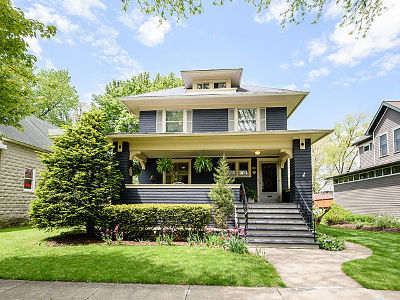 River Forest Single Family Home For Sale: 122 Ashland Avenue