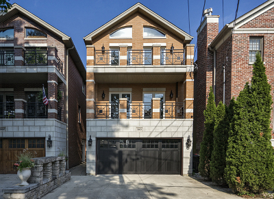 Single Family Home For Sale: 3013 North Honore Street