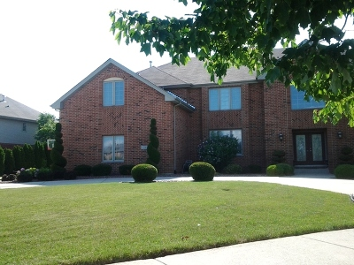 Flossmoor Single Family Home For Sale