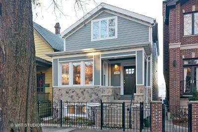 Chicago Single Family Home New: 3138 North Oakley Avenue