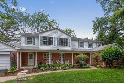 Winnetka Single Family Home For Sale: 906 Gordon Terrace