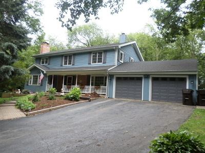 McHenry Single Family Home For Sale: 1301 Miller Road