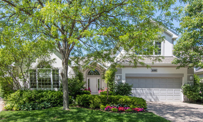 Highland Park Single Family Home Price Change: 835 Croftridge Lane