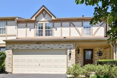 Hoffman Estates Condo/Townhouse New: 4672 North Sapphire Drive