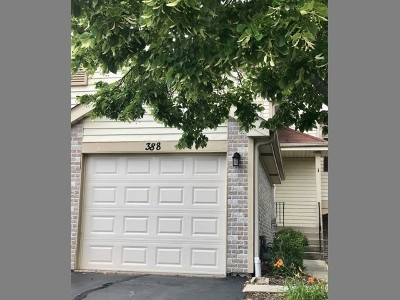 Hoffman Estates Condo/Townhouse New: 388 Grissom Court