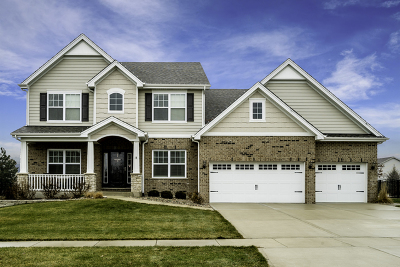 Lockport Single Family Home Contingent: 16728 West Huntington Drive