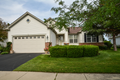 Huntley Single Family Home For Sale: 12716 Oak Grove Drive