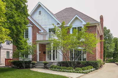 Hinsdale Single Family Home For Sale: 437 South Madison Street