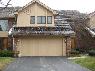 Burr Ridge Condo/Townhouse Contingent: 50 Oak Creek Drive