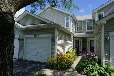 Schaumburg Condo/Townhouse For Sale: 2708 Odlum Drive