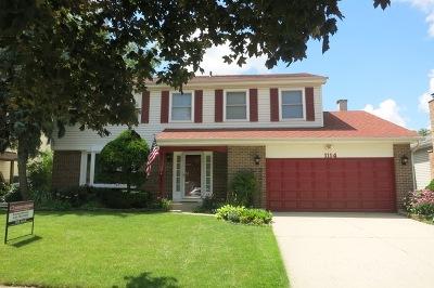 Bartlett Single Family Home New: 1114 Washington Street