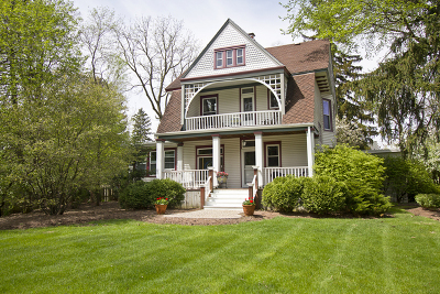 Wheaton Single Family Home For Sale: 500 Arbor Avenue
