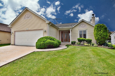 Elgin Single Family Home New: 1367 Burns Drive