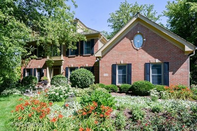 St. Charles Single Family Home Price Change: 4n688 High Meadow Road