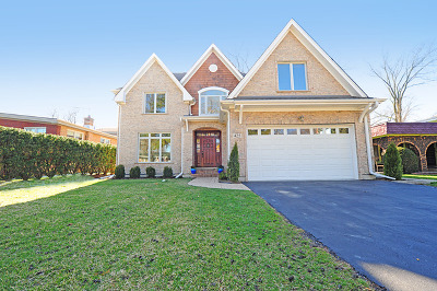Wilmette Single Family Home Price Change: 425 Sunset Drive