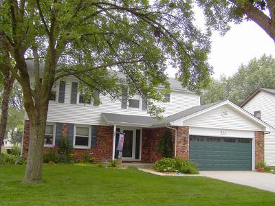Schaumburg Single Family Home New: 614 Stratford Drive