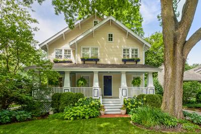 Glen Ellyn Single Family Home For Sale: 234 Kenilworth Avenue