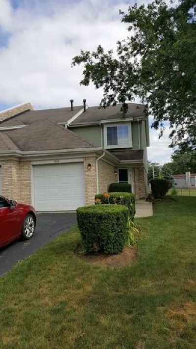 Bolingbrook Condo/Townhouse For Sale: 308 Lakeview Circle