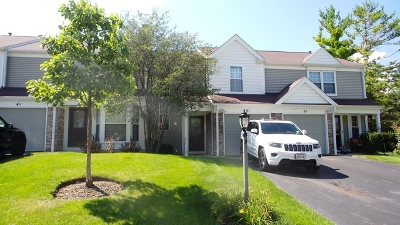 Streamwood Condo/Townhouse Re-Activated: 6 Chaucer Lane #A