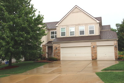 Streamwood Single Family Home New: 318 English Oak Lane