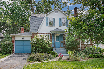 Wheaton Single Family Home For Sale: 1301 Irving Avenue