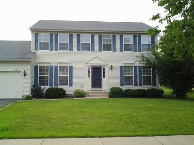 McHenry Single Family Home Price Change: 6422 Midleton Lane