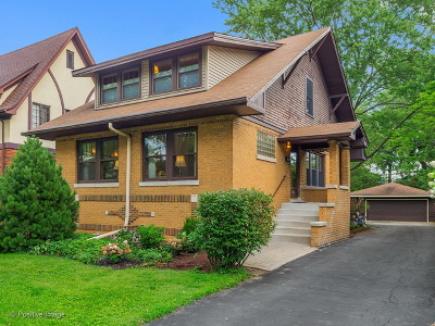 Western Springs Single Family Home Contingent: 4545 Franklin Avenue