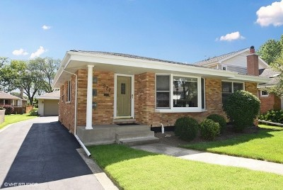 Elmhurst Single Family Home Price Change: 977 South Prospect Avenue