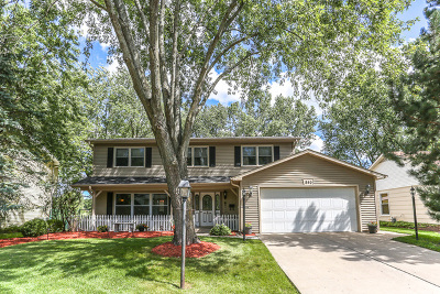 Lake Zurich Single Family Home Contingent: 840 Surryse Road