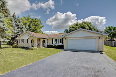 McHenry Single Family Home Contingent: 1514 Palamino Drive