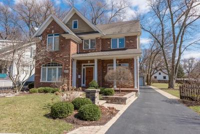 Glen Ellyn Single Family Home For Sale: 155 North Main Street
