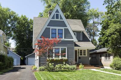 Highland Park Single Family Home For Sale: 436 Burton Avenue