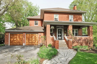 Flossmoor Single Family Home For Sale: 830 Burns Avenue