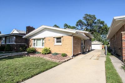 Evergreen Park Single Family Home Price Change: 10117 South Utica Avenue