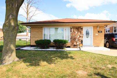 Calumet City  Single Family Home For Sale: 445 Calhoun Avenue