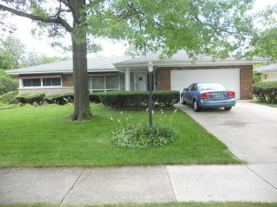 Flossmoor  Single Family Home For Sale: 1270 Oakmont Avenue