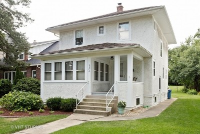 Downers Grove Single Family Home Contingent: 1129 Curtiss Street