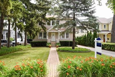 Highland Park Single Family Home For Sale: 1465 Oakwood Avenue